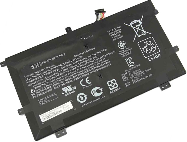 Battery for HP MY02XL laptop